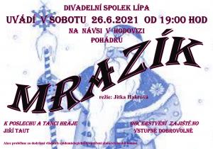 """Divadelní představení """"MRAZÍK"""""""
